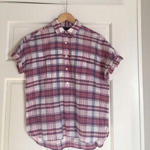 J.Crew popover blouse